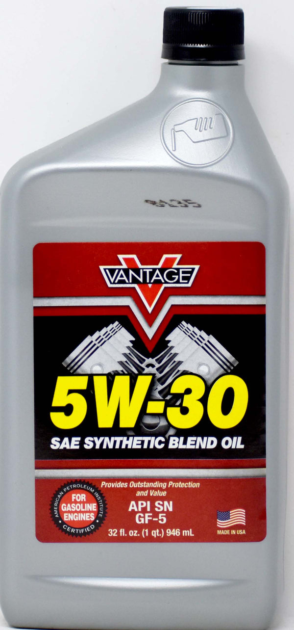 5W-30 Sae Synthetic Blend Oil, 32 oz.