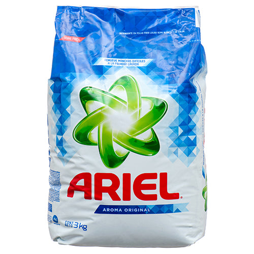 Ariel Washing Powder Detergent, 3 Kg