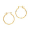 14 KT Pincatch GF Earrings, 40 mm