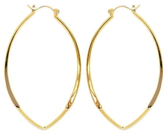 14 KT Pincatch GF Earrings, 50 mm