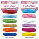 Jewelry Craft Cord 6 x 16.4ft Assorted, 1-ct.