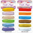 Satin Rattail cord 9.8ft Assorted, 1-ct.