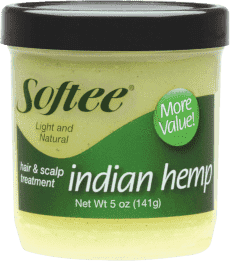 Softee Indian Hemp Hair & Scalp Treatment, 5 oz.