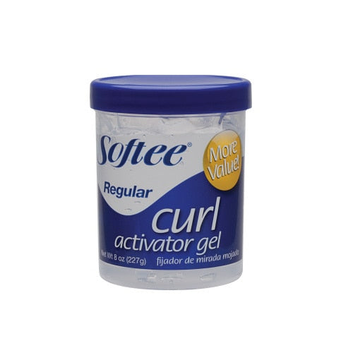 Softee Regular Curl Activator Gel, 8 oz.