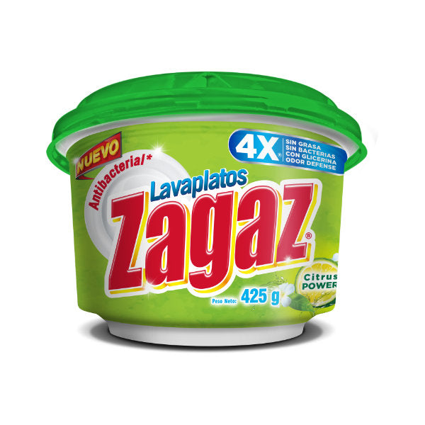 Antibacterial Lavaplatos Zagaz Citrus Power, 425g