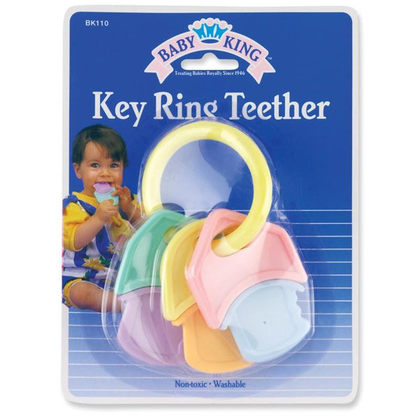 Baby King Teether Hard/Soft Keys