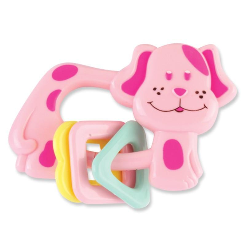 Baby King Baby Puppy Dog Rattle