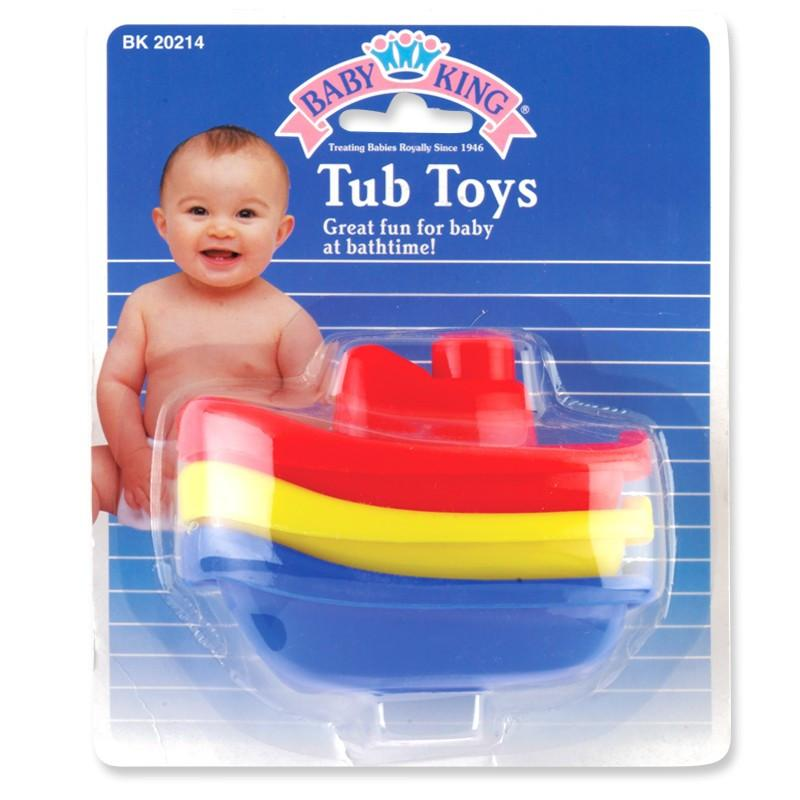 Baby King Baby Tub Toys (3 Pack)