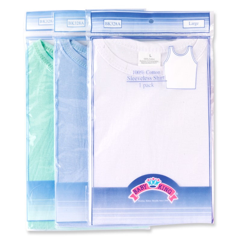 Baby King Baby Sleeveless Shirt (1 Pack)