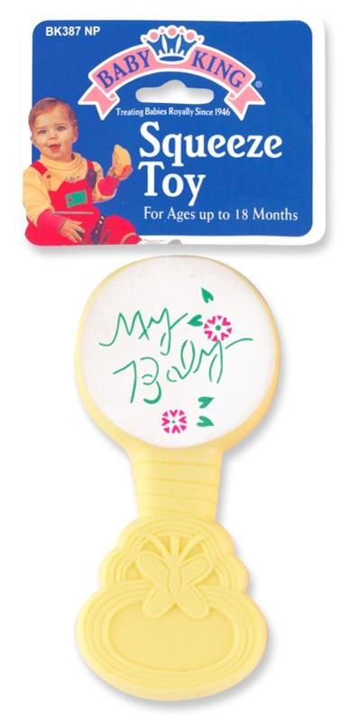 Baby King Baby Lollipop Squeeze Toy