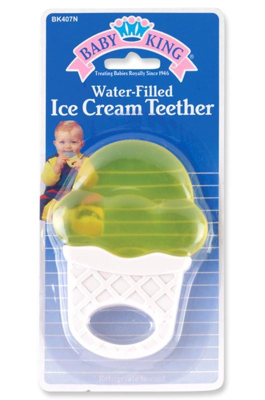 Baby King Water-Filled Ice Cream Cone Teether