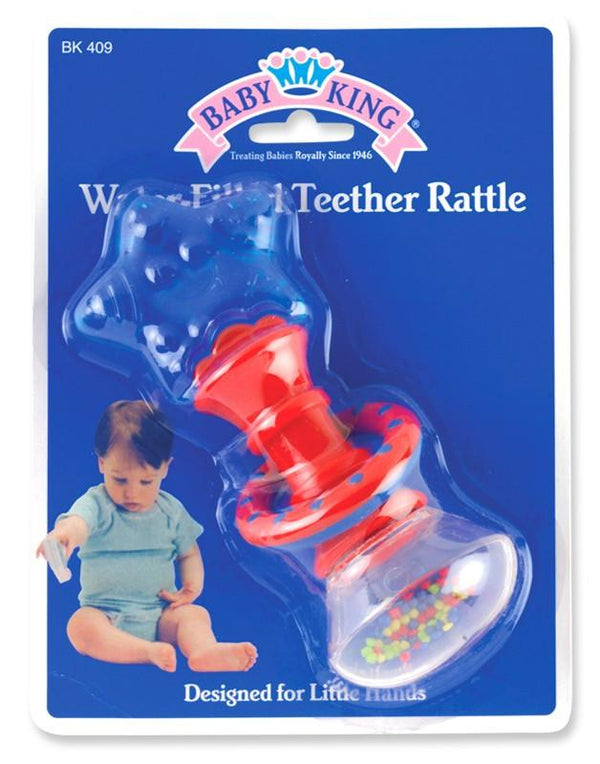 Baby King Water-Filled Teether Rattle