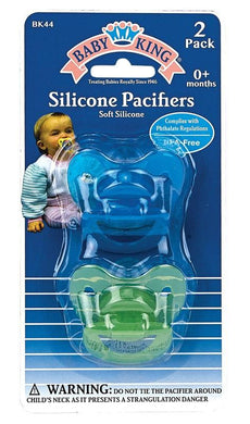 Baby King Orthodontic Pacifiers 2 Pack