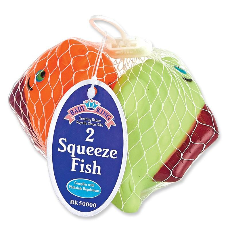 Baby King Baby Squeeze Fish Floating Toys (2 Pack)