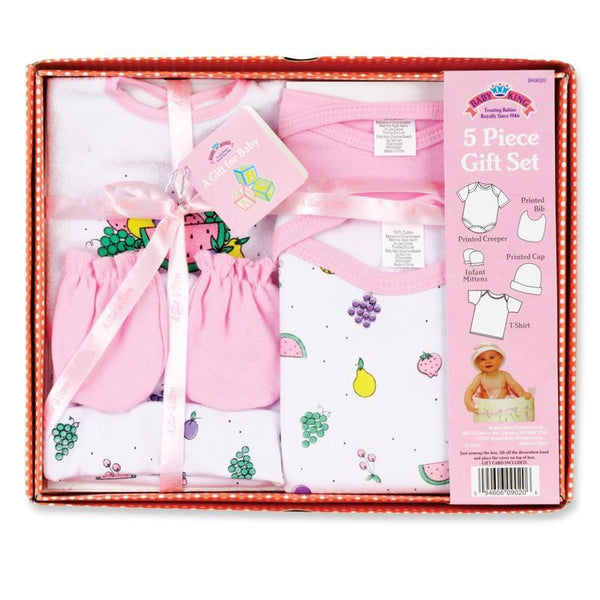Baby King 5 Pc. Layette Gift Set