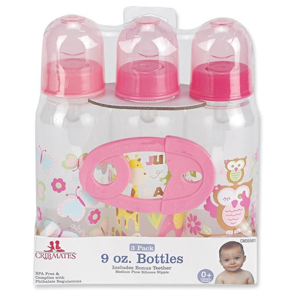 3pk Bottle Set W/ Teether