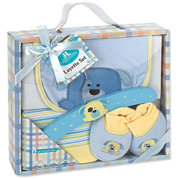 Crib Mates 4-Piece Baby Shower Gift Set