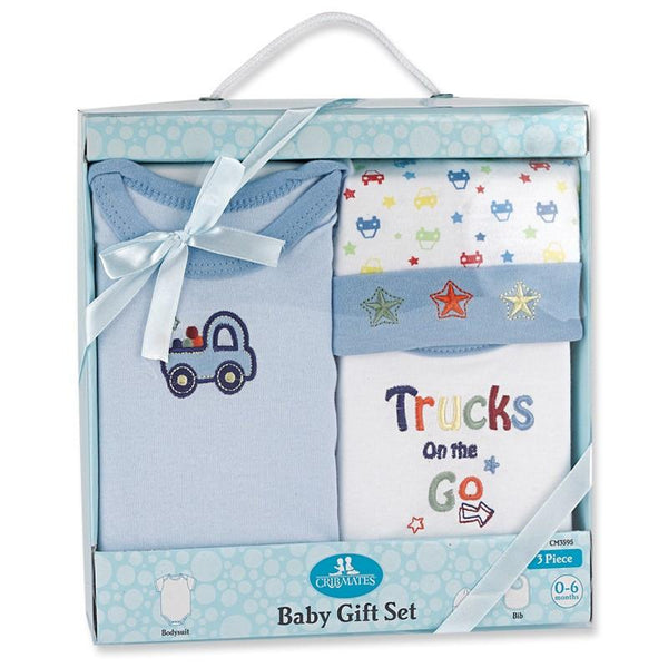 Crib Mates 3-Piece Gift Set
