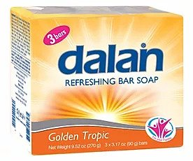 Dalan Refreshing Bar Soap Golden Tropic, 3 Pack