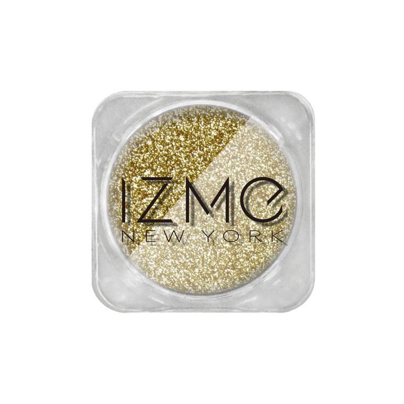 IZME New York Glitter Collection – Light Marigold – 0.053 oz. / 1.5 g