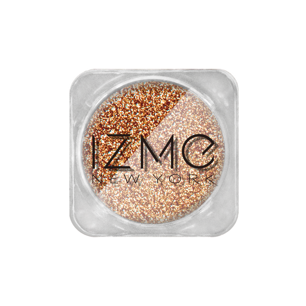 IZME New York Glitter Collection – Copper Gold – 0.053 oz. / 1.5 g