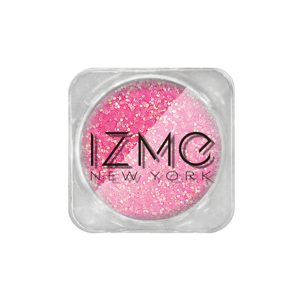 IZME New York Glitter Collection – Rose – 0.053 oz. / 1.5 g