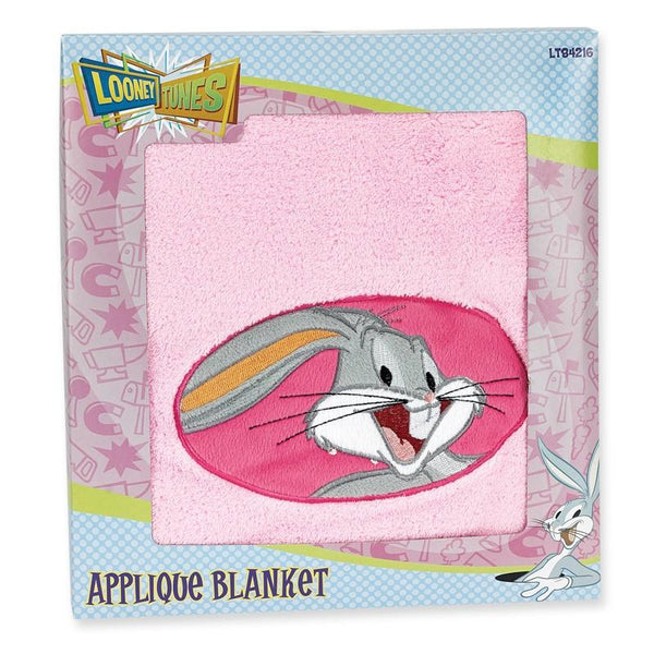 Looney Tunes Applique Baby Blanket