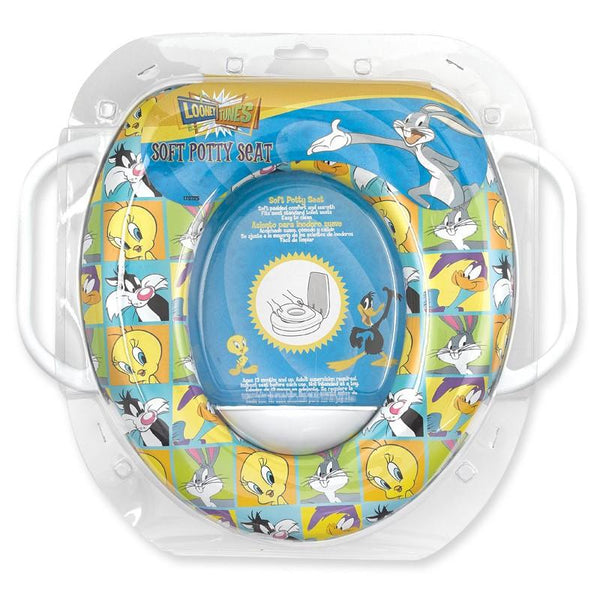 Looney Tunes Soft Padded Potty Seat with Handles