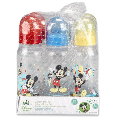 Disney Baby Mickey Mouse 6 Pack Bottle Set