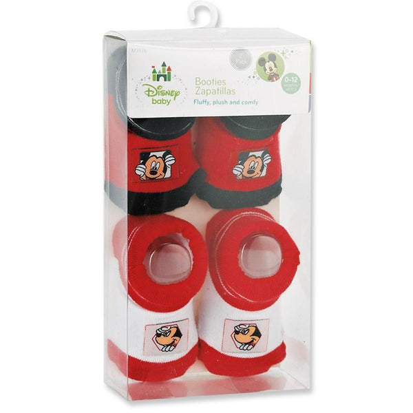 Disney Mickey Mouse 2-pack Booties Set