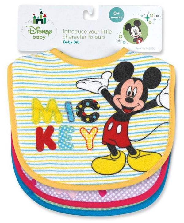 Disney Mickey Mouse Terry Bib