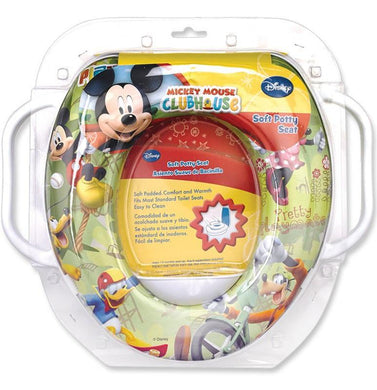 Disney Mickey Mouse Soft Potty Seat W/ Handles