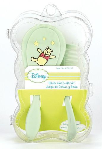 Disney Winnie The Pooh Boxed Baby Comb & Brush