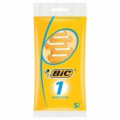 Bic Classic Disposable Razors for Sensitive Skin, 5 ct.