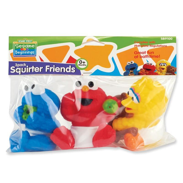 Sesame Street Squirter Friends