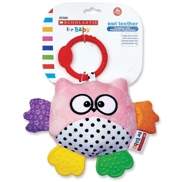 Scholastic Owl Teether