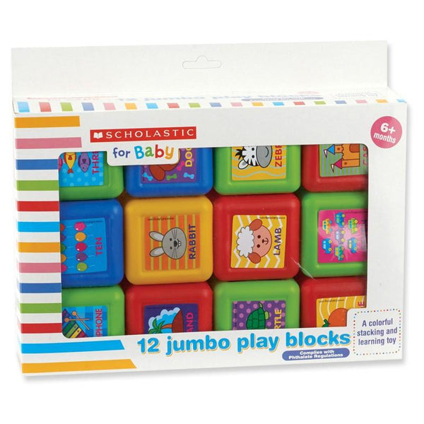 Scholastic™ 12 Jumbo Play Blocks