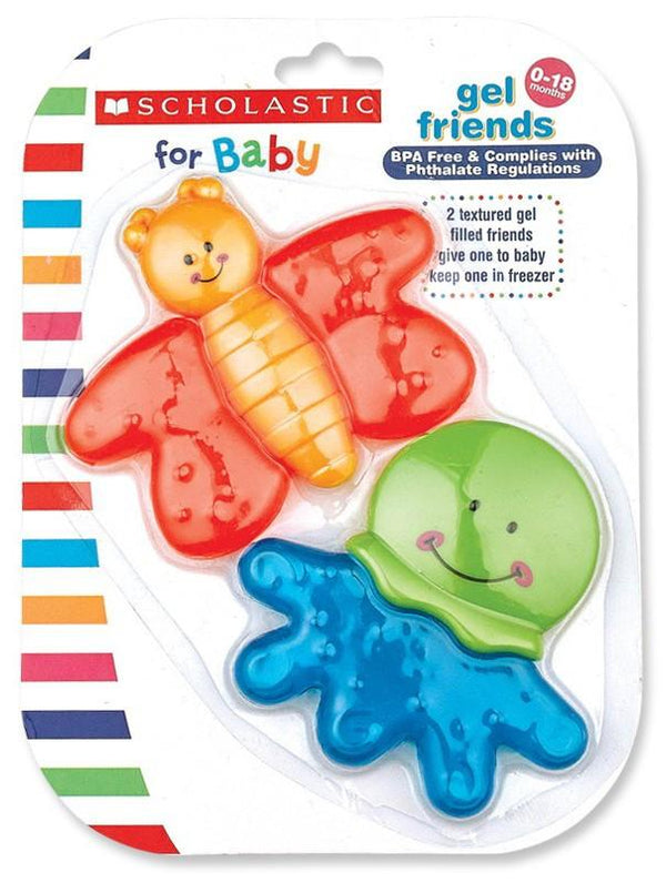 Scholastic™ Baby Textured Gel Friends (2 Pack)