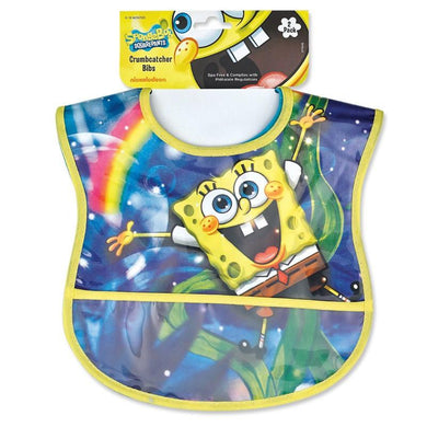 Spongebob Squarepants 2pk Crumbcatcher Bib Set