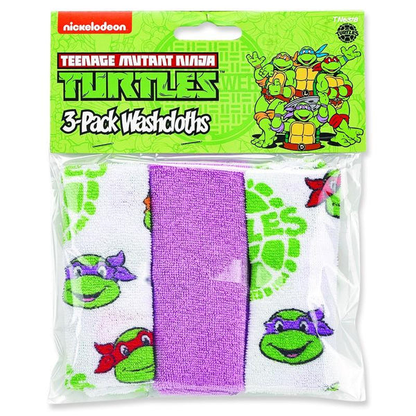 Teenage Mutant Ninja Turtles™ 3-Pack Washcloths