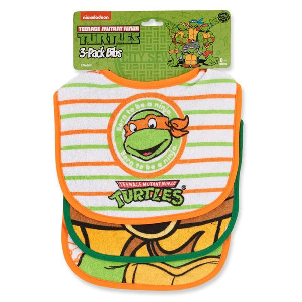 Teenage Mutant Ninja Turtles™ 3-Pack Baby Bibs