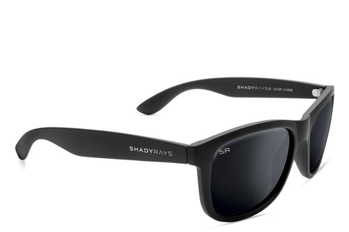 Shady Rays - Signature Series - Blackout Polarized - Sunglasses - Sunshades Outlet