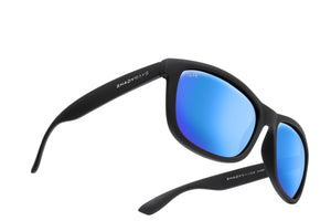 Shady Rays - Signature Series - Black Glacier Polarized - Sunglasses - Sunshades Outlet