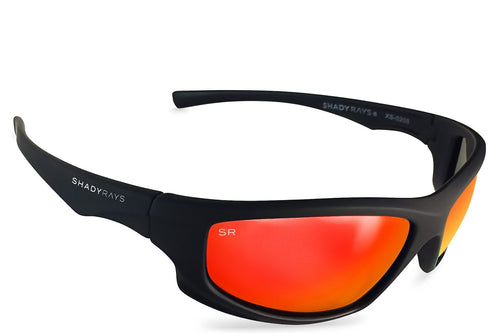 Shady Rays - X-Series - Black Infrared Polarized - Sunglasses - Sunshades Outlet
