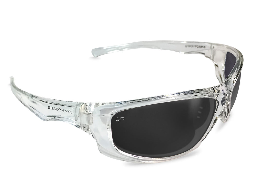 Shady Rays - X-Series - Black Ice Polarized - Sunglasses - Sunshades Outlet