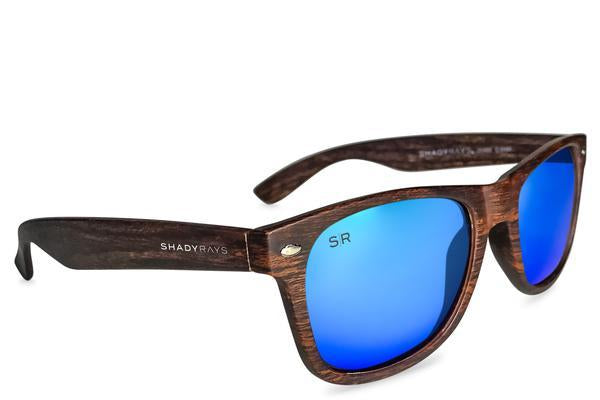 Shady Rays - Classic - Ocean Timber Polarized - Sunglasses - Sunshades Outlet