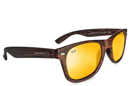 Shady Rays - Classic - Golden Timber Polarized - Sunglasses - Sunshades Outlet