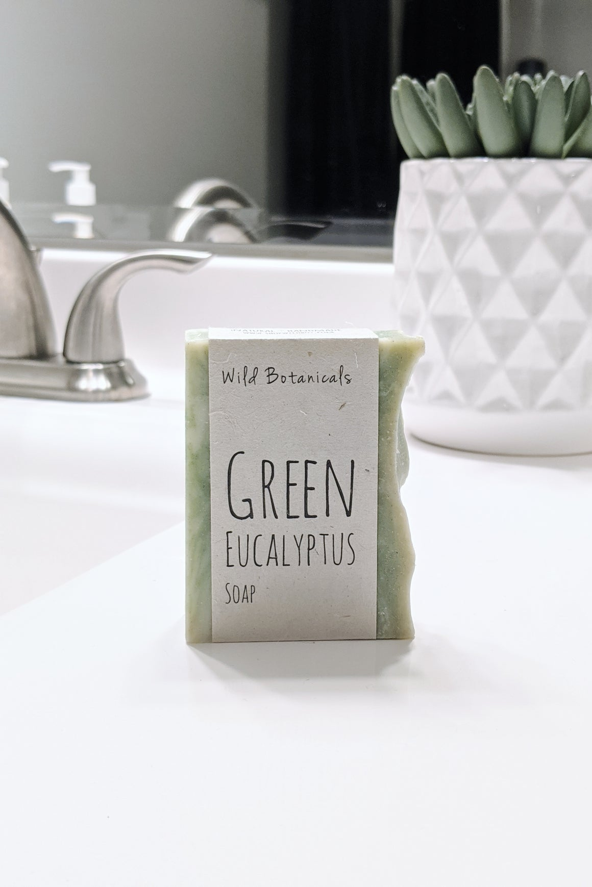 Green Eucalyptus Soap