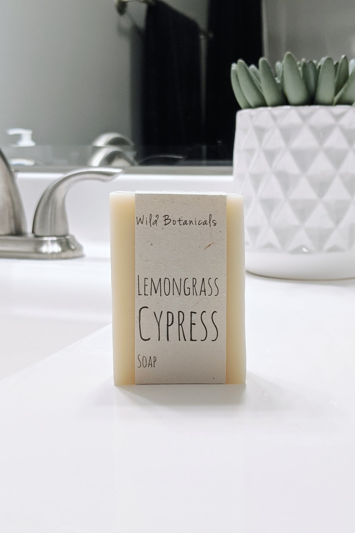 Lemongrass Cypress Soap