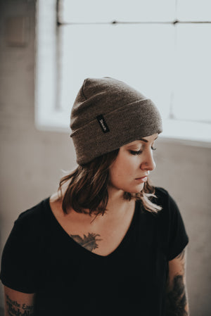 Almond Women's Beanie Hat